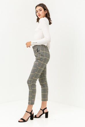 Billie Glen Plaid Pants