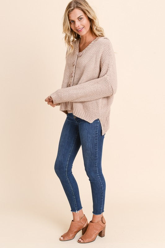 Kaleigh Hooded Cardigan