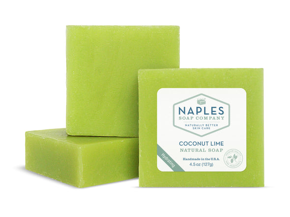 Coconut Lime Natural Soap