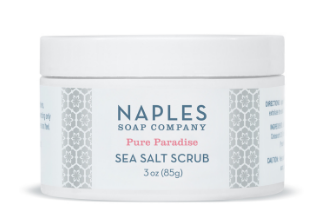 Pure Paradise Sea Salt Scrub 3 oz.