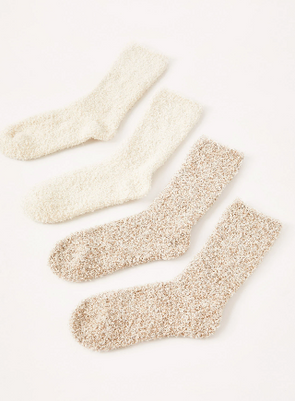 Plush Socks 2 Pack