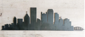 Pittsburgh City Skyline Wall Art