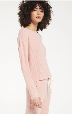 Leila Rib Long Sleeve