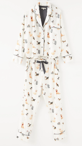 Dream State Pup PJ Set