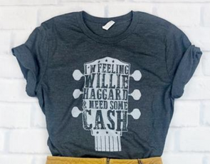 Willie, Haggard & Cash T-Shirt