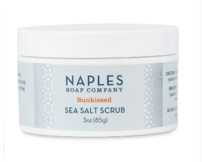 Sunkissed Sea Salt Scrub 3 oz.