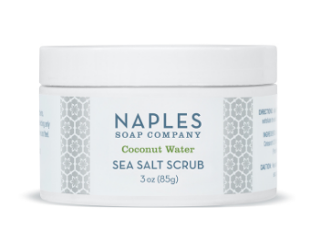 Coconut Water Sea Salt Scrub 3 oz.