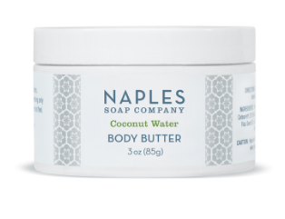 Coconut Water Body Butter 3 oz.