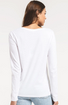 The Perfect Long Sleeve V Tee