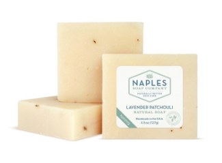 Lavender Patchouli Natural Soap