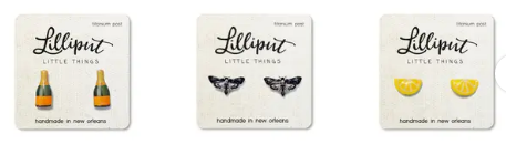Lilliput Stud Earrings