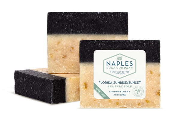 Florida Sunrise Sunset Sea Salt Soap