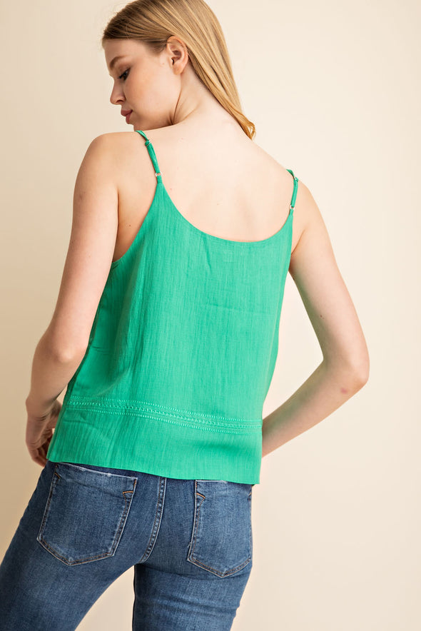 Kelli Emerald Top