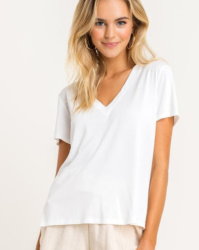 Perfect V Modal Tee