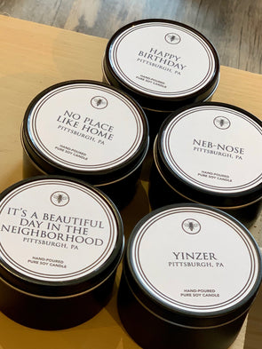 Ella B. Neighborhood Custom Candle Tins