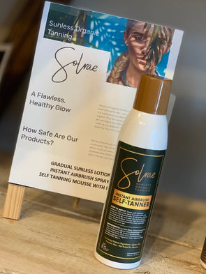 Solrae Sunless Organic Instant Airbrush Self-Tanner
