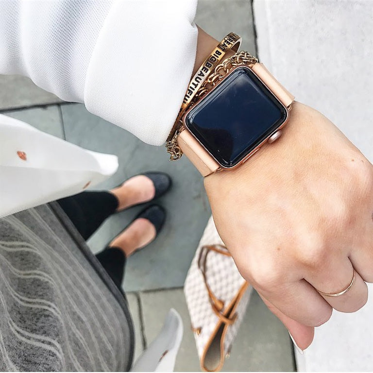 Koncept Apple Watch 5 Women's Leather Band
