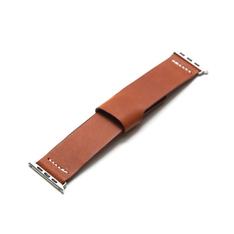 Koncept Apple Watch 5 Tan Leather Band