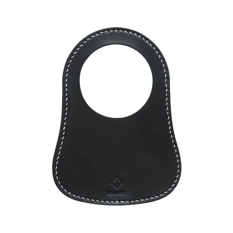Classic Mini Black Leather Fuel Bib - Koncept Studios