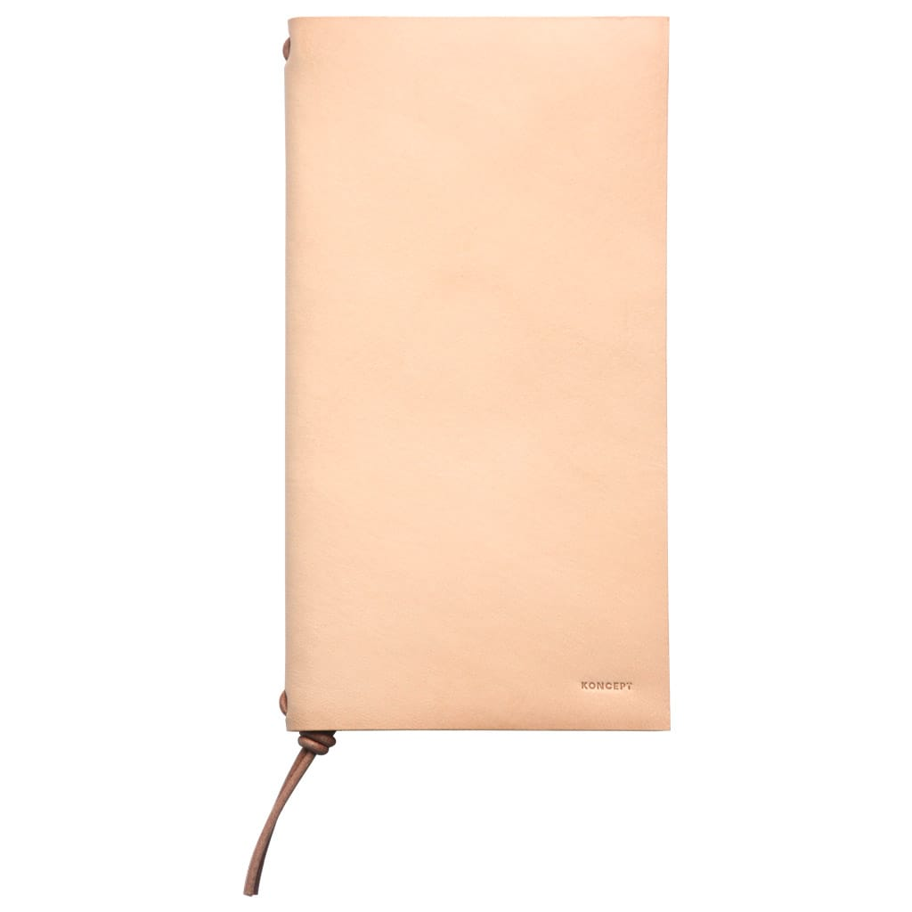 Koncept Studios Natural Leather A5 Traveler's Notebook