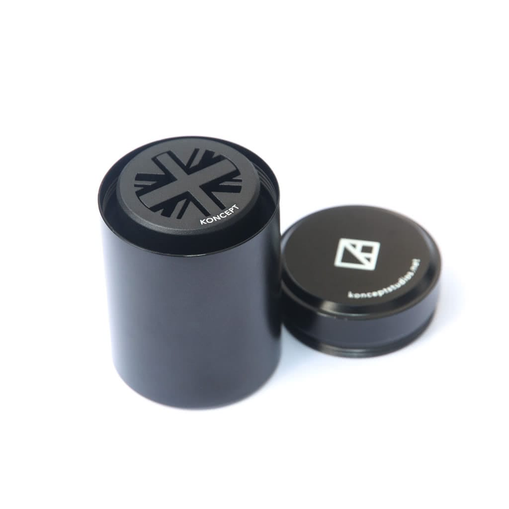 Black classic mini union jack gear knob in aluminium tin