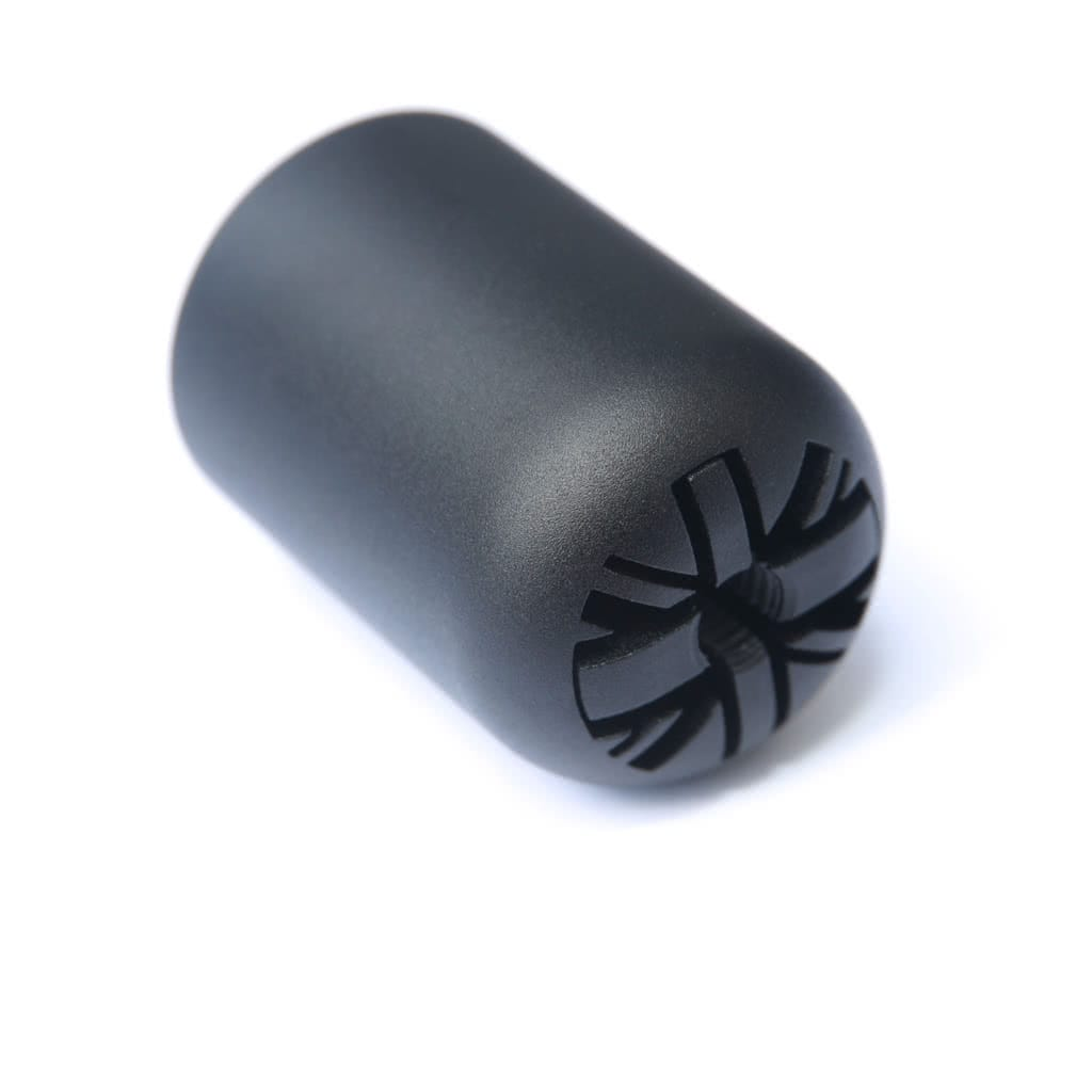 Black classic mini union jack gear knob