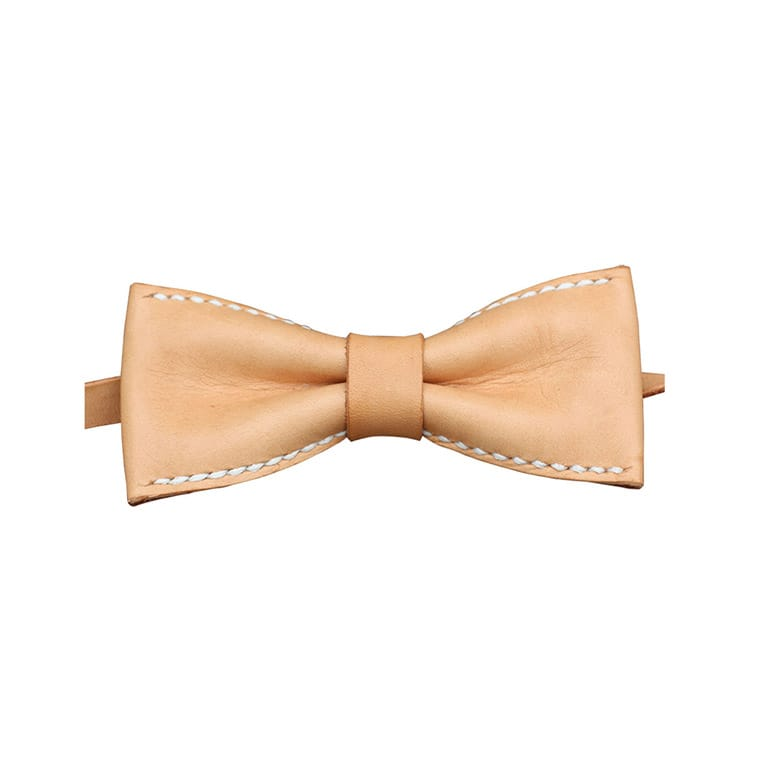 Koncept Men's Leather Bow Tie