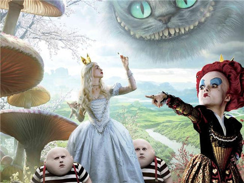 Alice in wonderland Silk Print Movies Poster 004