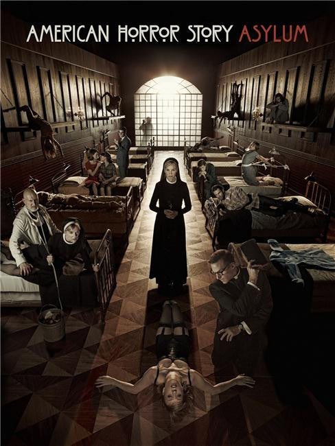 American Horror Story Silk Print TV Shows Poster 004