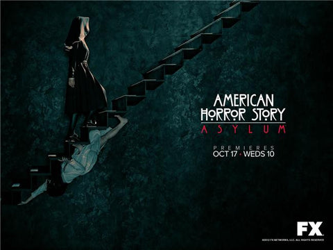 American Horror Story Silk Print TV Shows Poster 016