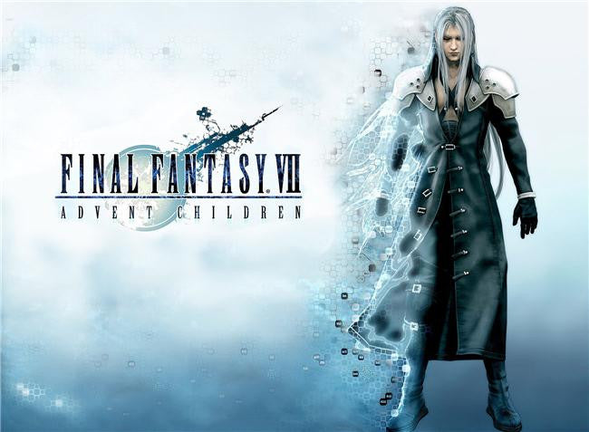 Final Fantasy 7 Advent Children Silk Print Games Poster 001