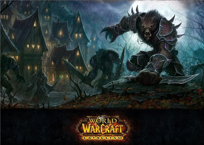 World of WarCraft Silk Print Games Poster 003
