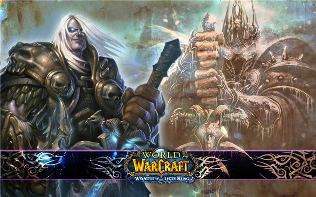 World of WarCraft Silk Print Games Poster 004