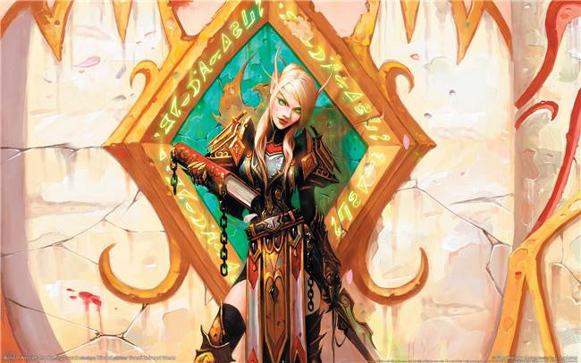 World of WarCraft Silk Print Games Poster 008