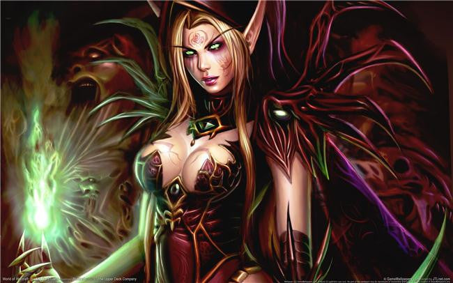 World of WarCraft Silk Print Games Poster 011