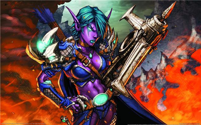 World of WarCraft Silk Print Games Poster 039