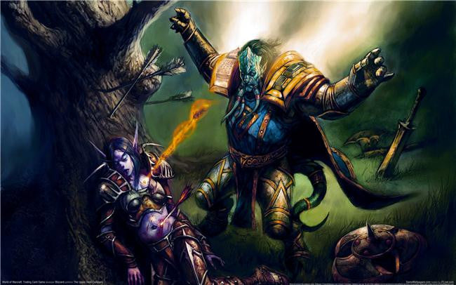 World of WarCraft Silk Print Games Poster 048