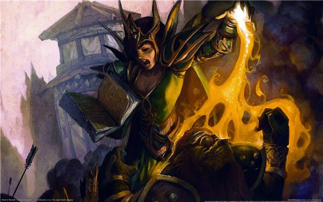 World of WarCraft Silk Print Games Poster 051