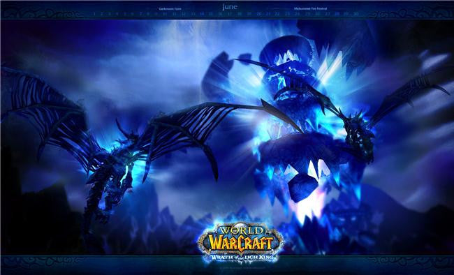 World of WarCraft Silk Print Games Poster 053
