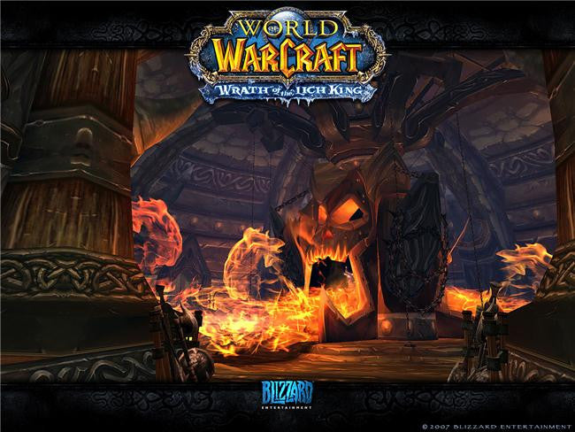 World of WarCraft Silk Print Games Poster 064