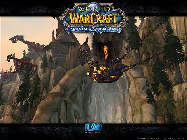World of WarCraft Silk Print Games Poster 065