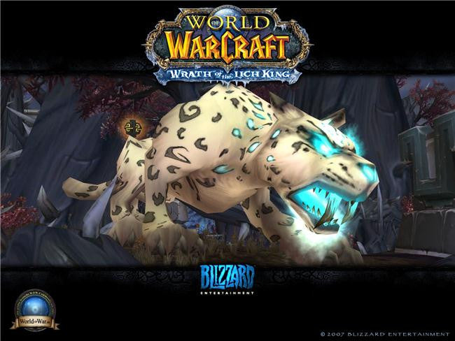 World of WarCraft Silk Print Games Poster 074