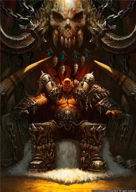 World of WarCraft Silk Print Games Poster 082