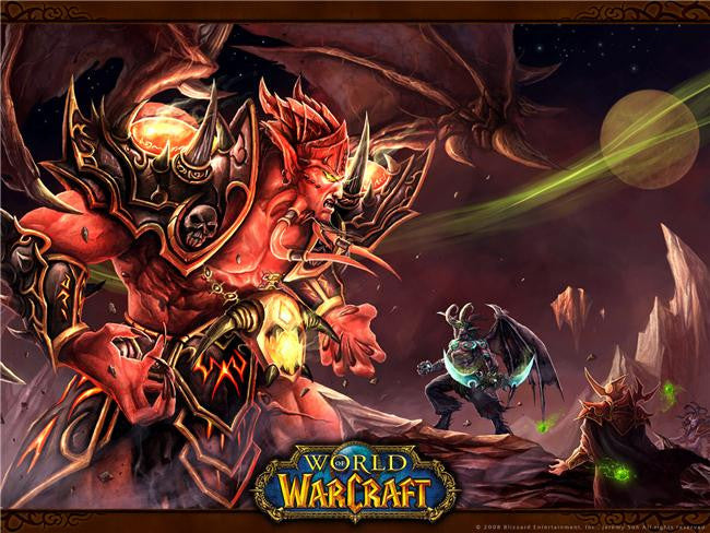World of WarCraft Silk Print Games Poster 088