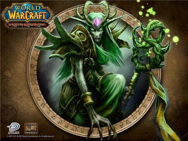 World of WarCraft Silk Print Games Poster 092