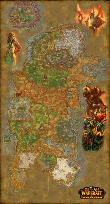 World of WarCraft Silk Print Games Poster 110