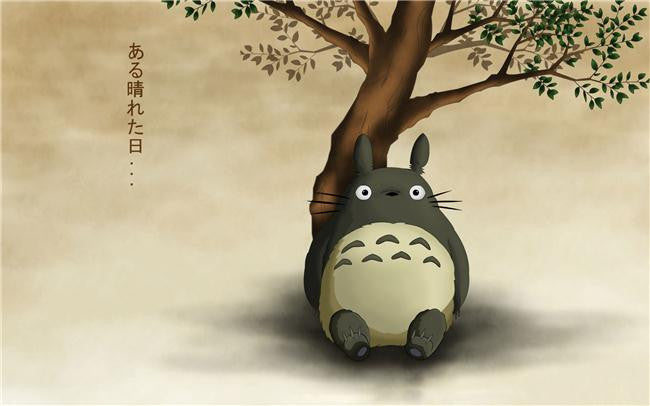 My Neighbor Totoro Silk Print Animes Poster 006