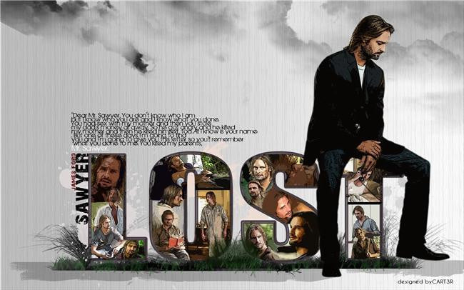 Lost Season Silk Print TV Shows Poster 009