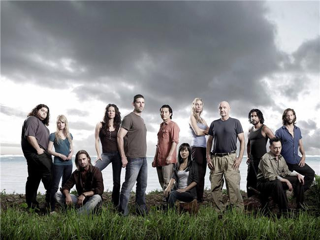 Lost Season Silk Print TV Shows Poster 020