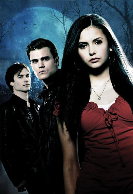 Vampire Diaries Silk Print TV Shows Poster 034
